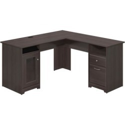 Cabot L Shaped Desk in Heather Gray - Bush Furniture WC31730K found on Bargain Bro India from totally furniture for $263.29