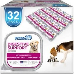 Forza10 Nutraceutic Actiwet Intestinal Support Icelandic Fish Recipe Canned Dog Food, 3.5-oz, case of 32
