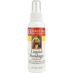 Miracle Care First Aid Liquid Bandage Spray for Dogs & Cats, 4-oz bottle found on Bargain Bro India from Chewy.com for $4.49