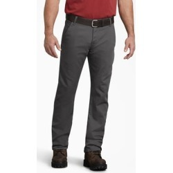 Dickies Men's Flex Regular Fit Straight Leg Tough Max™ Duck Carpenter Pants - Stonewashed Gray Size 36 34 (DP802) found on Bargain Bro India from Dickies.com for $39.99
