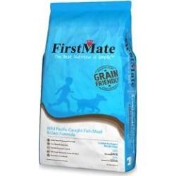 FirstMate Grain Friendly Wild Pacific Caught Fish Meal & Oats Formula Dog Food, 5-lb bag