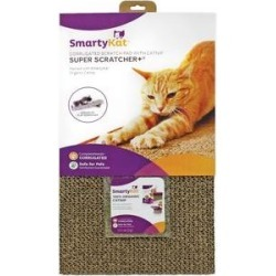 SmartyKat Super Scratcher+ with Catnip Cat Scratcher, Wide found on Bargain Bro Philippines from Chewy.com for $10.07