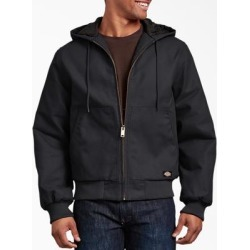 Dickies Men's Rigid Duck Hooded Jacket - Black Size 2Xl 2Xl (TJ718) found on Bargain Bro India from Dickies.com for $69.99