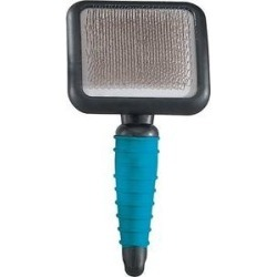 Master Grooming Tools Ergonomic Slicker Pet Brush, Teal, Large found on Bargain Bro India from Chewy.com for $14.19