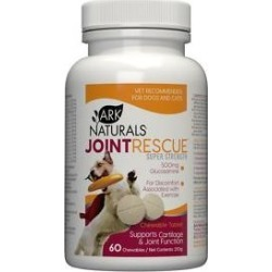 Ark Naturals Joint Rescue Super Strength Chewables Dog & Cat Supplement, 60 count