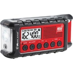 Midland ER310 E+READY Emergency Crank Weather Alert Radio found on Bargain Bro from Crutchfield for USD $45.59