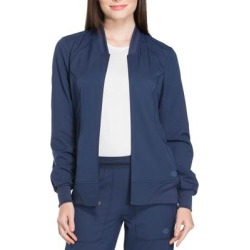 Dickies Women's Dynamix Scrub Jacket - Navy Blue Size L (DK330) found on Bargain Bro India from Dickies.com for $34.99
