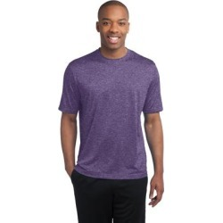 Sport-Tek ST360 Heather Contender Top in Purple size 2XL | Polyester found on Bargain Bro Philippines from ShirtSpace for $9.58