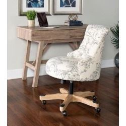 Sinclair Floral Office Chair - Linon OC106FL01 found on Bargain Bro India from totally furniture for $168.97