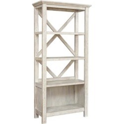 Signature Design Carynhurst Large Bookcase in Whitewash - Ashley Furniture H755-17 found on Bargain Bro India from totally furniture for $262.09
