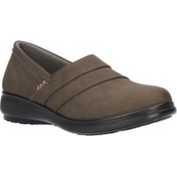 Women's Maybell Slip On by Easy Street in Smoke (7 M) found on Bargain Bro India from Woman Within for $59.99