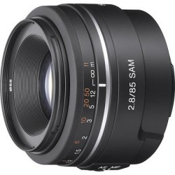 Sony SAL-85F28 Alpha Lens 85mm, f/2.8, 55mm Filter found on Bargain Bro India from Crutchfield for $299.99