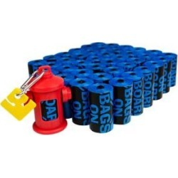 Bags on Board Bac Block'r Antibacterial Coated Dog Poop Bags and Dispenser, 600 count