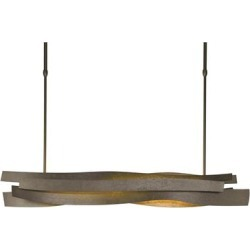 Hubbardton Forge Landscape 37 Inch 1 Light LED Linear Suspension Light - 139727-1012 found on Bargain Bro Philippines from Capitol Lighting for $2330.00