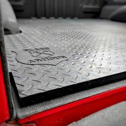Black Armour Premium truck bed mat, Primary Color Black, Material Type Rubber, Thickness 0.5 in, Model 1305450 found on Bargain Bro India from northerntool.com for $249.00