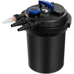 Costway 4000GAL Pond Pressure Bio Filter with Light found on Bargain Bro from Costway for USD $159.56