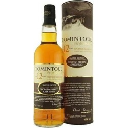 Tomintoul Scotch Single Malt 12 Year Oloroso Cask Finish 750ml found on Bargain Bro from WineChateau.com for USD $72.94