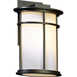 Hubbardton Forge Province Medium Outdoor Wall Sconce found on Bargain Bro from LAMPS PLUS for USD $627.00