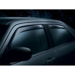 WeatherTech Side Window Vent, Fits 2004-2010 Mitsubishi Galant, Material Type Molded Plastic, Tint Color Medium, Model 82356 found on Bargain Bro Philippines from northerntool.com for $114.95