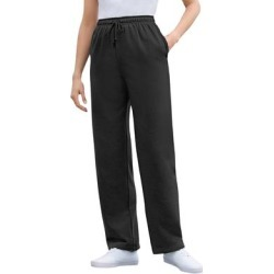 Plus Size Women's Better Fleece Sweatpant by Woman Within in Black (Size 5X) found on Bargain Bro Philippines from fullbeauty for $19.99