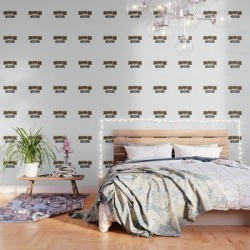 Moschino Peel And Stick Wallpaper by Storeusa - 2' X 8' found on Bargain Bro Philippines from Society6 for $79.20