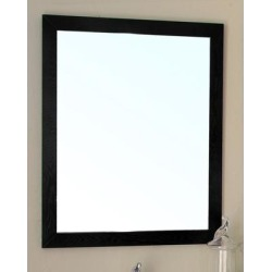 23.6 in Mirror-black -wood - BellaTerra 804375-MIRROR found on Bargain Bro Philippines from totally furniture for $265.99