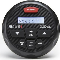 MB Quart GMR-3 Bluetooth Gauge Mount Marine Receiver found on Bargain Bro Philippines from Crutchfield for $169.99