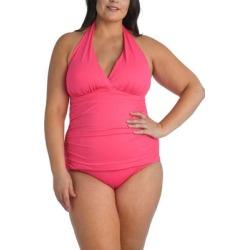 Halter Tankini Top - Pink - La Blanca Beachwear found on Bargain Bro from lyst.com for USD $67.64