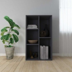 Wade Logan® Gabbert 31.5 H x 19.7 W BookcaseWood in Brown/Gray, Size 31.5 H x 19.7 W x 9.84 D in | Wayfair 293F6145E22042ED8BC7D6AA033A6031 found on Bargain Bro Philippines from Wayfair for $86.99