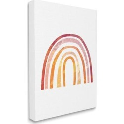 Stupell Industries Warm Tone Rainbow with Abstract Sky Texture Canvas Wall Art found on Bargain Bro Philippines from Overstock for $109.99