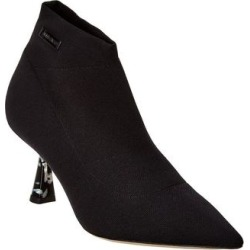 Jimmy Choo Saber 65 Sock Bootie (39), Women's, Black(leather) found on MODAPINS from Overstock for USD $549.99