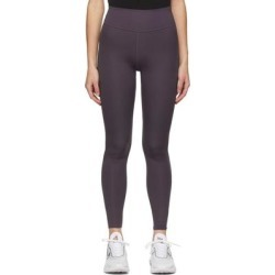 Purple One Luxe Leggings - Purple - Nike Pants found on Bargain Bro from lyst.com for USD $79.80
