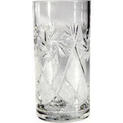 Neman Glassworks Mill Cut High-End Crystal High-Ball Glass (Set of 6) found on Bargain Bro from Overstock for USD $67.63