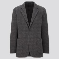 UNIQLO Men's Comfort Jacket (Pattern), Gray, S found on Bargain Bro India from Uniqlo for $29.90