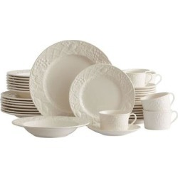 Mikasa English Countryside 40-pc. Dinnerware Set, White found on Bargain Bro from Kohl's for USD $250.79