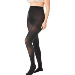 Plus Size Women's 2-Pack Smoothing Tights by Comfort Choice in Black (Size E/F) found on Bargain Bro Philippines from Ellos for $14.99