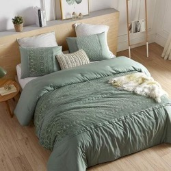 Bali Oversized Comforter (Shams not Included) (King), Green, Byourbed found on Bargain Bro from Overstock for USD $104.33