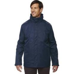 Tall Region 3-In-1 Men's Big and Tall with Fleece Liner Classic Navy 849 Jacket (2XT), Blue found on MODAPINS from Overstock for USD $87.99