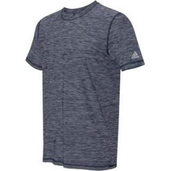 Adidas Men's Tech Sports T Assorted Colors (Medium - Navy Melange), Blue(polyester) found on Bargain Bro Philippines from Overstock for $31.99