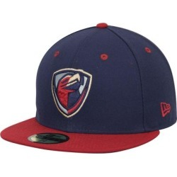 Lancaster JetHawks New Era Authentic Road 59FIFTY Fitted Hat - Navy/Red found on MODAPINS from Fanatics for USD $37.99