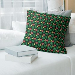 Porch & Den Darmel Tropical Pattern Throw Pillow found on Bargain Bro from Overstock for USD $62.69