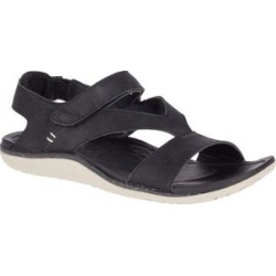 Merrell Women's Sandals BLACK - Black Trailway Backstrap Leather Sandal - Women found on Bargain Bro Philippines from zulily.com for $59.99