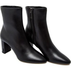 Saint Laurent Women's 'Lou 70' Monogram Leather Boot Black (8) found on Bargain Bro from Overstock for USD $455.24