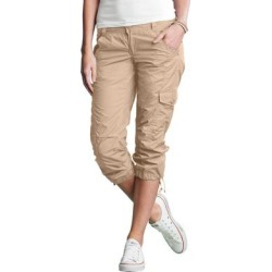 Plus Size Women's Stretch Cargo Capris by ellos in New Khaki (Size 32) found on Bargain Bro Philippines from Ellos for $37.90