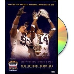 LSU Tigers 2003 Sugar Bowl Champions DVD found on Bargain Bro India from Fanatics for $14.99