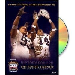 LSU Tigers 2003 Sugar Bowl Champions DVD found on Bargain Bro from Fanatics for USD $11.39