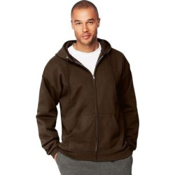Hanes Men's Ultimate Cotton Heavyweight Full Zip Hoodie (Black - L), Men's found on Bargain Bro Philippines from Overstock for $30.24