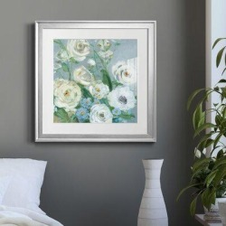 House of Hampton® Painterly Garden II - Picture Frame Painting Print on Paper Paper in Brown/Green, Size 16.0 H x 16.0 W x 1.25 D in   Wayfair found on Bargain Bro Philippines from Wayfair for $59.99