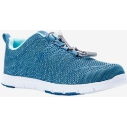 Women's Travel Walker Evo Sneaker by Propet in Denim Lt Blue (Size 7 1/2 M) found on Bargain Bro Philippines from Woman Within for $64.99