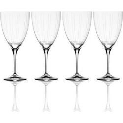 Mikasa Berlin 4-pc. Red Wine Glass Set, Multicolor found on Bargain Bro Philippines from Kohl's for $63.99